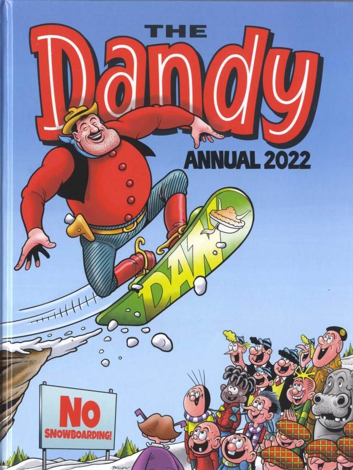 The Dandy Annual 2022 - Cover by Steve Bright