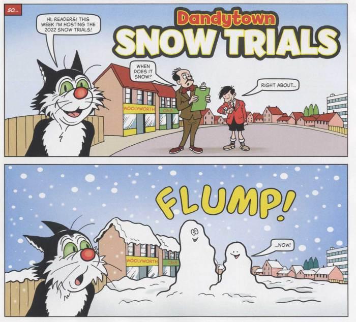 The Dandy Annual 2022 - Snow Trials