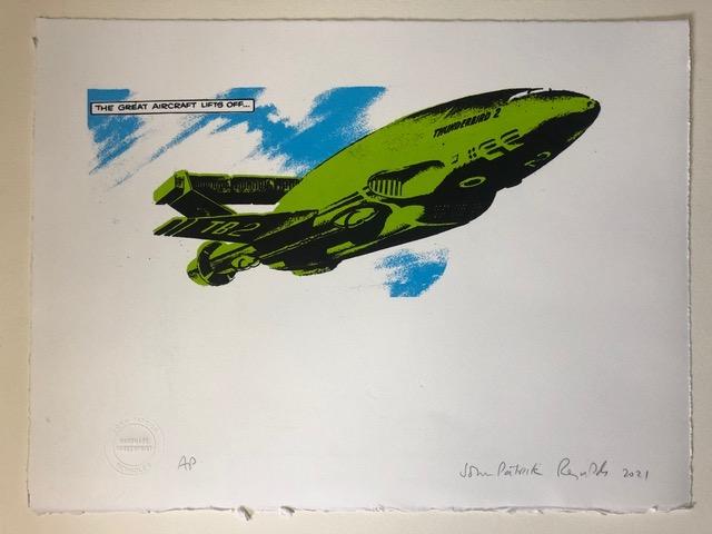 Gerry Anderson Limited Edition Print by john Patrick Reynolds - Thunderbird 2