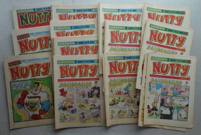 Nutty, various issues, with other lots offering more