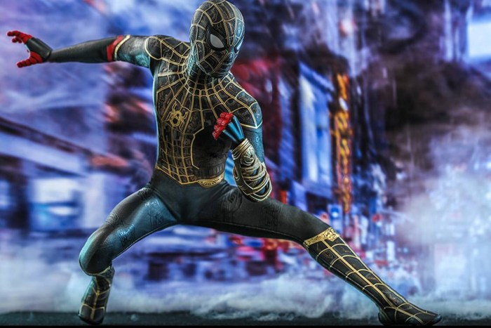 Hot Toys Spider-Man figure based on the hero's look in Spider-Man: No Way Home, available for pre-order over on Sideshow Collectibles - for $270…