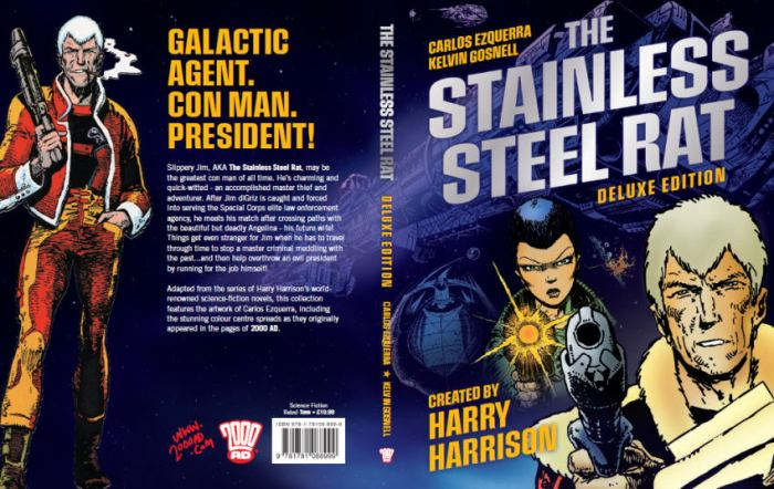 The Stainless Steel Rat Deluxe Edition - Full Cover (Paperback)
