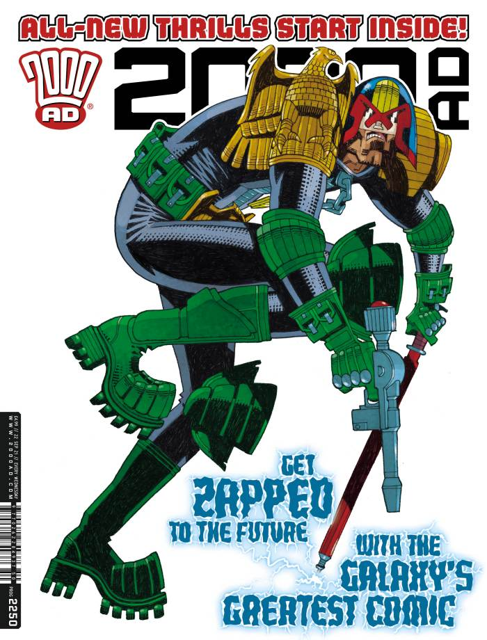 2000AD 2250 - cover by Mick McMahon