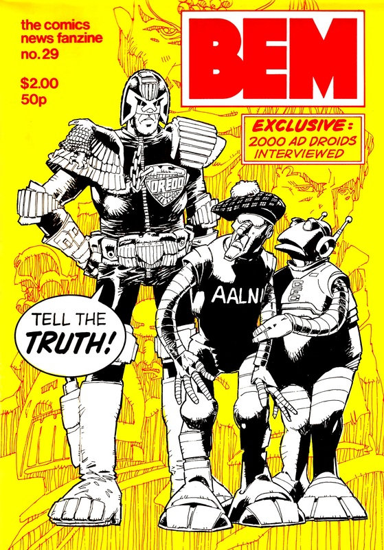 BEM 29 - Cover by Mike McMahon