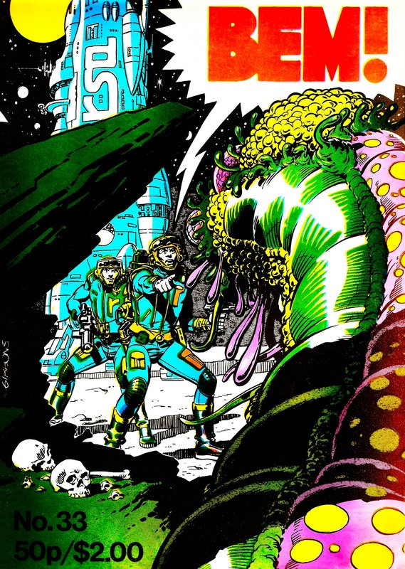 BEM 33 - Cover by Dave Gibbons