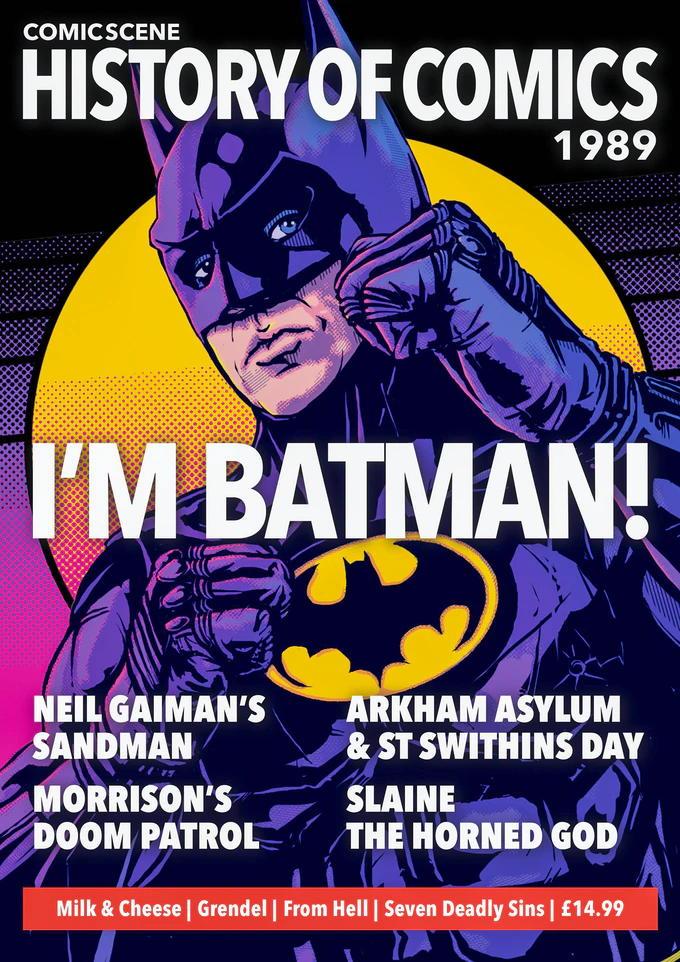 History or Comics 1989
