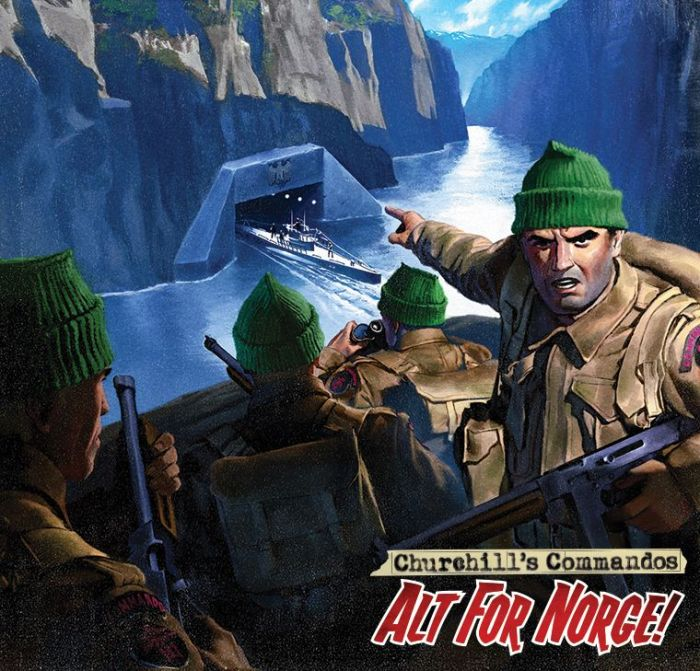 Commando 5471: Home of Heroes - Churchill's Commandos: Alt For Norge! FULL