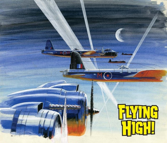 Commando 5470: Silver Collection - Flying High! FULL