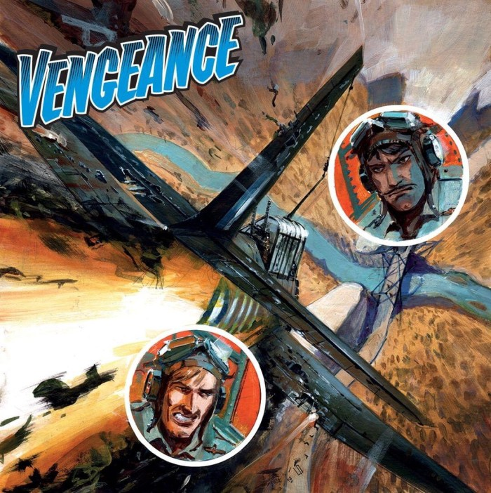 Commando 5481: Action and Adventure - Vengeance - cover by Keith Burns - Full cover