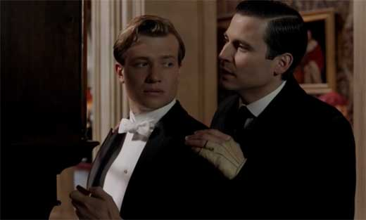 Image result for downton abbey jimmy and ivy