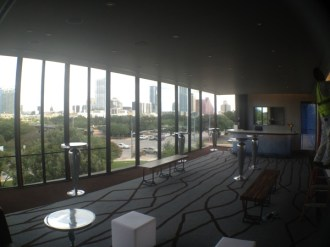 Another view of the sky lounge.