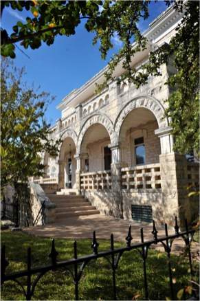 Chateau Bellevue / The Austin Woman's Club Exterior - a true gem of downtwon Austin