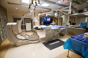 Cardiac and Vascular Care Cath Lab facility at CHMC