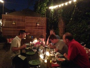 A Mediterranean evening in LA