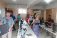 New computers donated by Retail ROI ready for action at Tia Tatiana School in Herrera