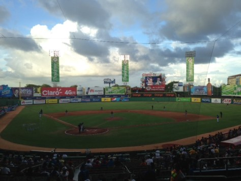 Santo Domingo baseball stadium