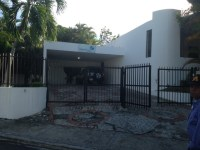 The Vision Trust house where we are staying in Santo Domingo