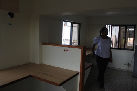 Former Vision Trust offices at Tia Tatiana school that Evalise would like to turn into a vocational training center