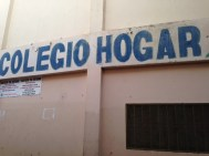 Entrance to Colegio Hogar and Tia Tatiana School in Herrera