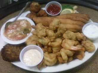 Cajun Depot Grill - bayou platter
