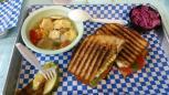 Back Porch Bistro - mozarella panini