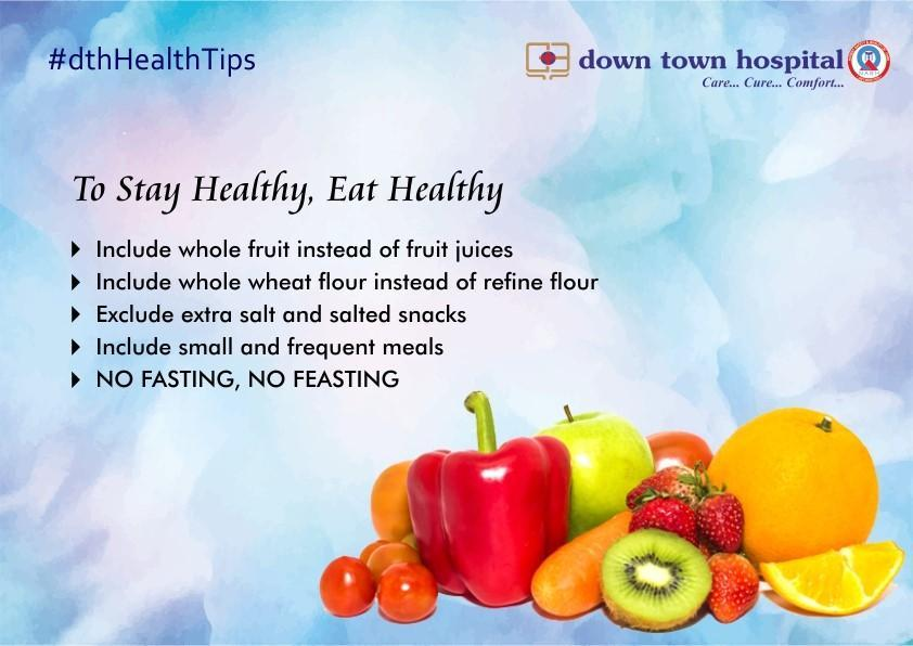 Health Tips By Downtown Hospital