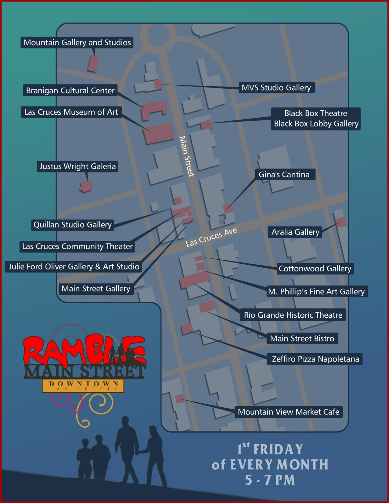Map Directory Downtown Las Cruces Partnership