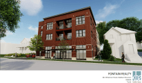 Williamson Street Mixed Use building Rendering
