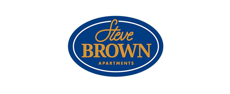 Steve Brown Apartments logo