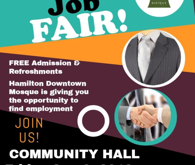 Summer Job Fair Aug 3