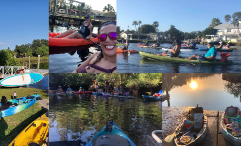 Group Paddle #2 is a Huge Success for Cotee River Kayakers Club