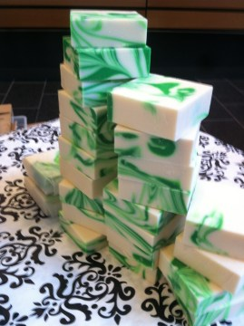 Soaps that smell like lime margaritas