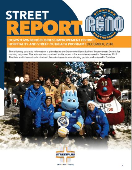 December 2018 street report