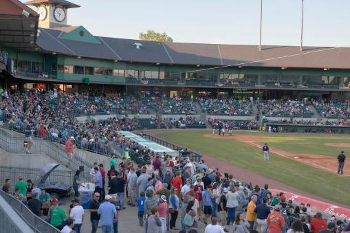 Dickey-Stephens Park, home to the Arkansas Travelers