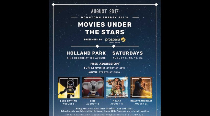 Movies Under the Stars – Downtown Surrey Business