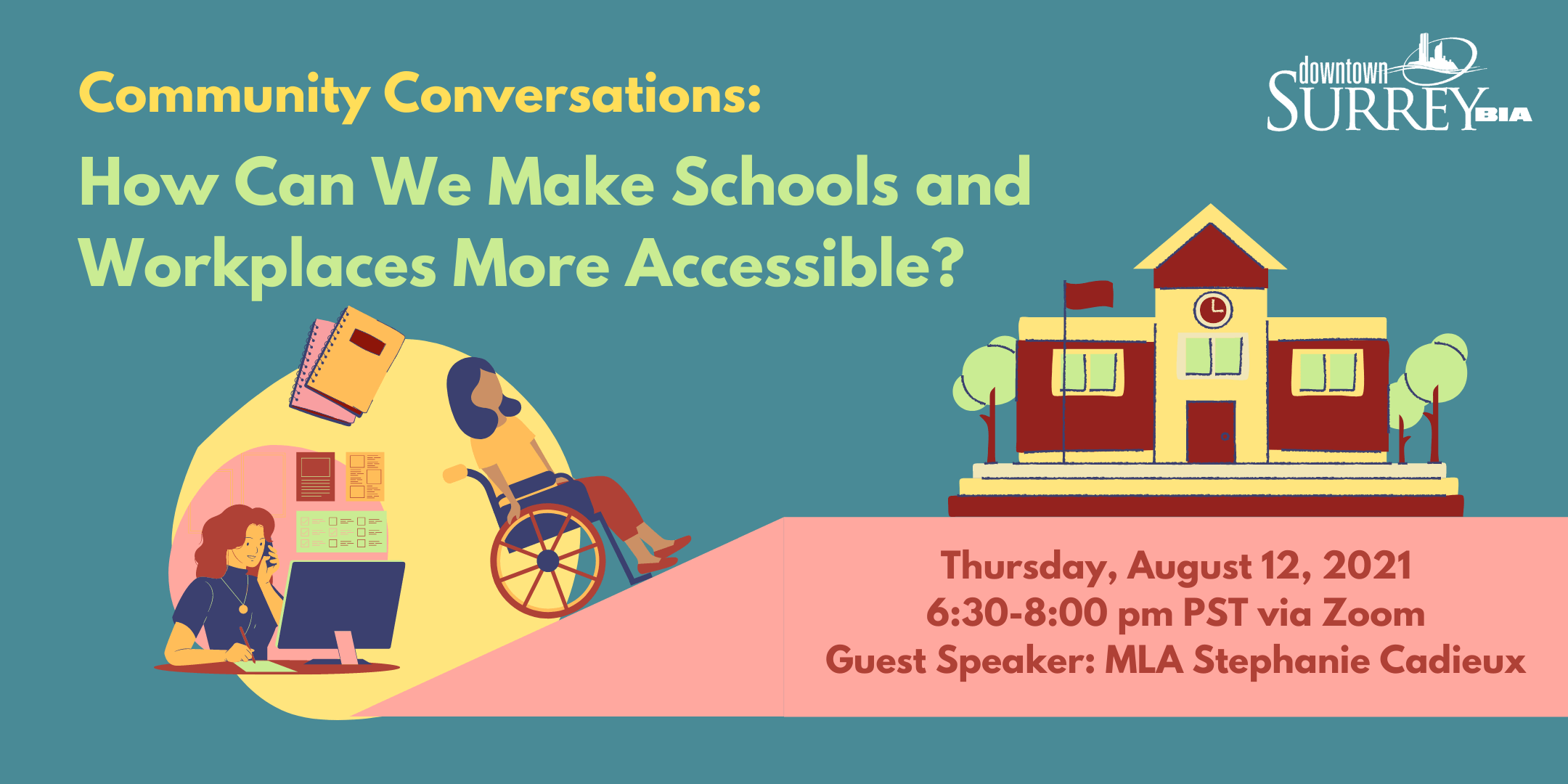 Community Conversations: Making Our Schools and Workplaces More Accessible
