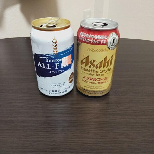 ノンアルコールビールNo.1決定戦 3位決定戦(すでに少し気持ち悪い)