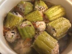 Potful of Bitter Melon Soup