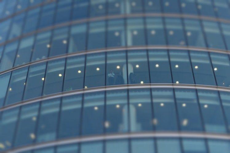 A picture of a corporate skyscraper.