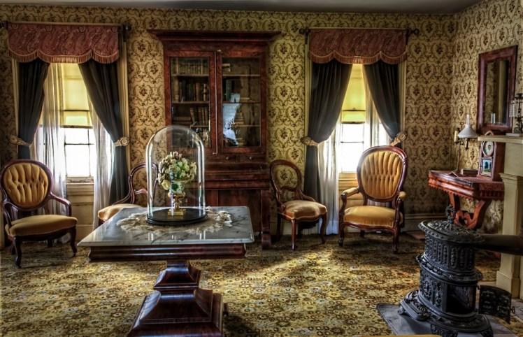 Antique living room.