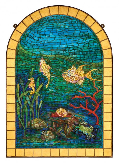 Tiffany Glass Mosaics Doyle Auction House