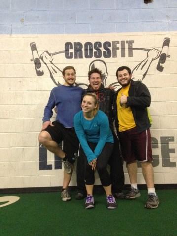 2/6/15 @ Crossfit Lifeforce