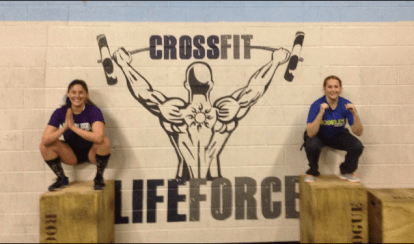 2/12/15 @ Crossfit Lifeforce