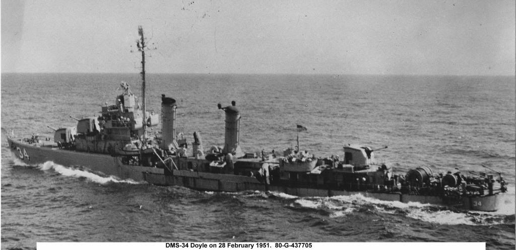 USS Doyle DMS-34