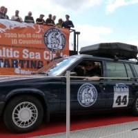 Tag 1 der Rallye - Hitting the Road