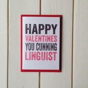 HV cunning linguist