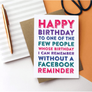 10 Birthday Cards That Are Truly Honest