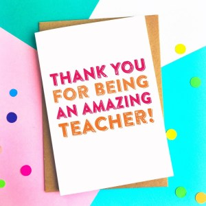 Top 5 teacher Gifts