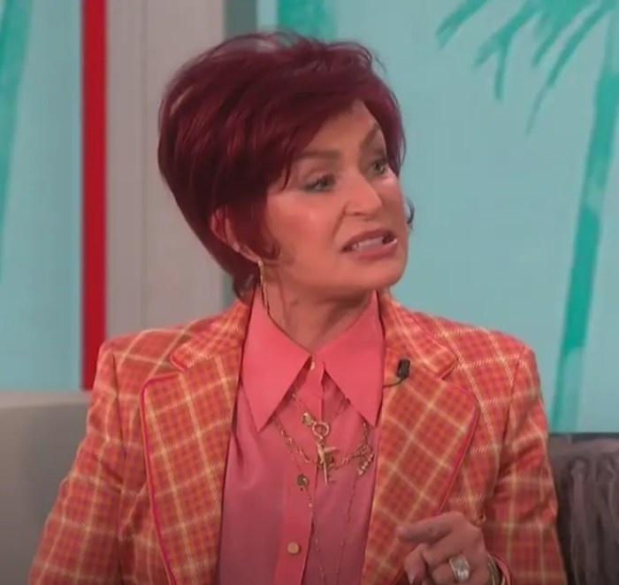 Sharon Osbourne Defends Piers Morgan In Argument On 'The Talk'