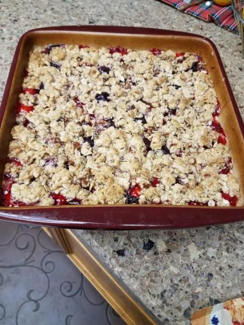 Cherry Dream Squares recipe